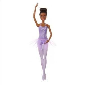 Barbie Ballerina Doll w/ Tutu & Sculpted Toe Shoes
